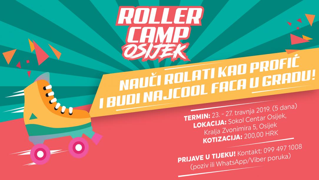 ROLLER CAMP OSIJEK 2019. - Upisi u tijeku!